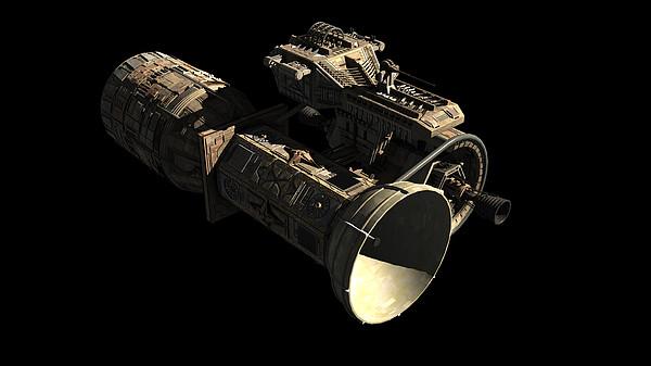 Satellite Digital Art - Frenchbulgarian Orbital Weapons by Rhys Taylor
