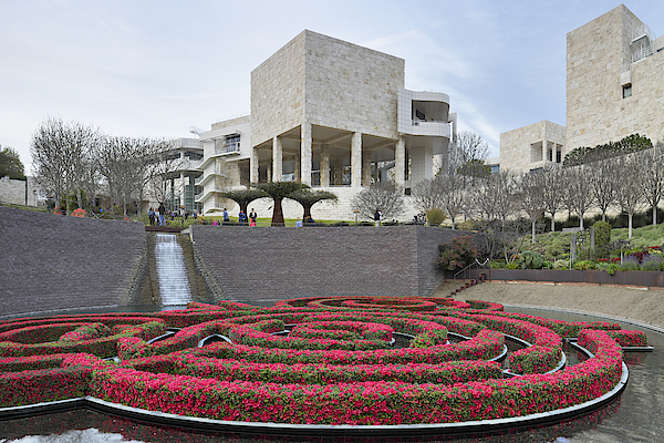 Getty Center - Los Angeles Photograph by S. Greg Panosian