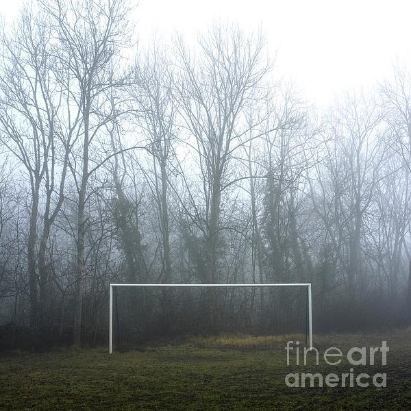 Abandoned Photograph - Goal by Bernard Jaubert
