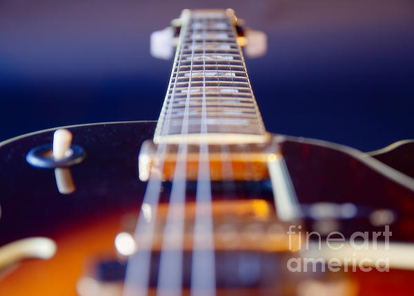 Abstract Photograph - Guitar by Stelios Kleanthous