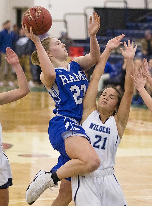 High School Basketball Photograph by Portland Press Herald