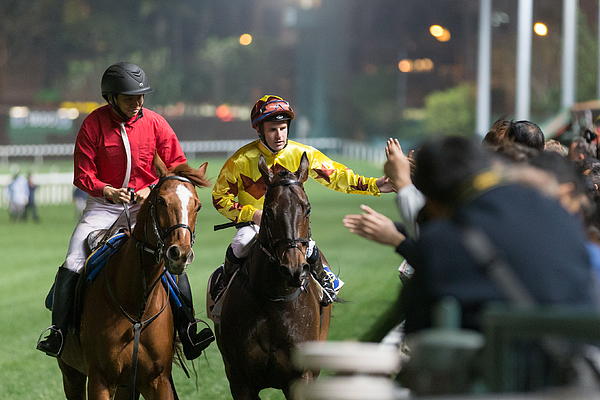 Horse Racing In Hong Kong - Happy Valley Racecourse Photograph by Lo Chun Kit