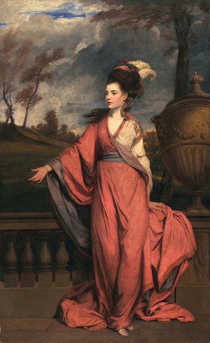 Female Painting - Jane Fleming, Later Countess by Sir Joshua Reynolds