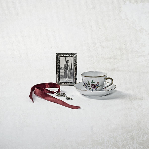 Coffee Photograph - Key To My Memories by Joana Kruse