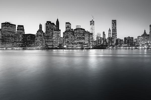 Nyc Photograph - New York City Skyline by Vivienne Gucwa