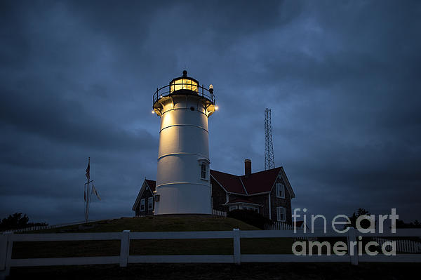 Cape Cod Photograph - Nobska Lighthouse by John Greim