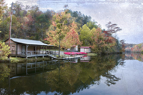 Beavers Bend State Park Photograph - Quiet Day by Cindy Rubin