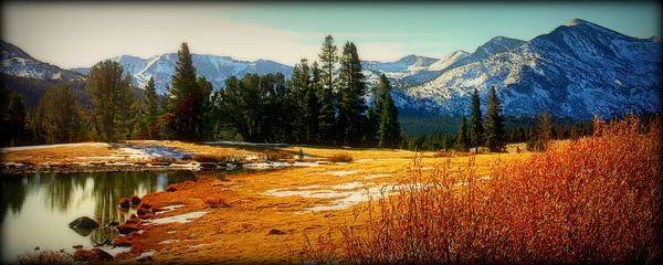 Mountains Photograph - Sierra Panorama by Lynn Bawden