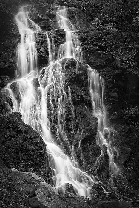 Vertical Photograph - Smokey Waterfall by Jon Glaser