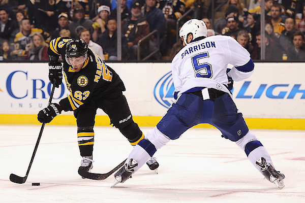 Tampa Bay Lightning V Boston Bruins Photograph by Maddie Meyer