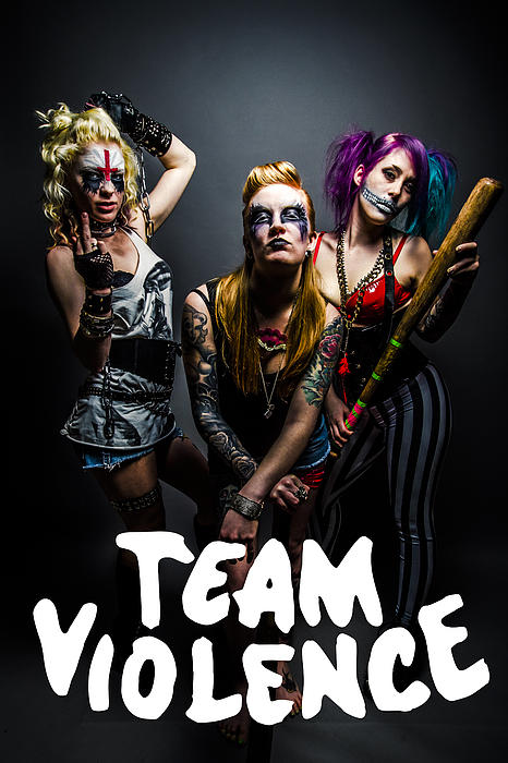 Warlord Photograph - Team Violence by Kyle James-Patrick