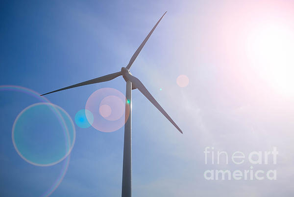 Alternative Energy Photograph - Wind Turbine by Amy Cicconi