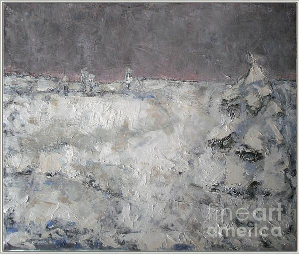 Post-impressionism Painting - Winter  by Pemaro