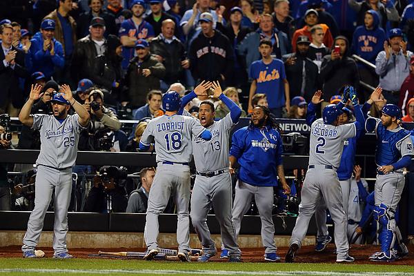 World Series - Kansas City Royals V New York Mets - Game Five Photograph by Elsa