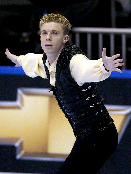 2004 State Farm U. S. Figure Skating Championships - Mens Short Program Photograph by Al Messerschmidt