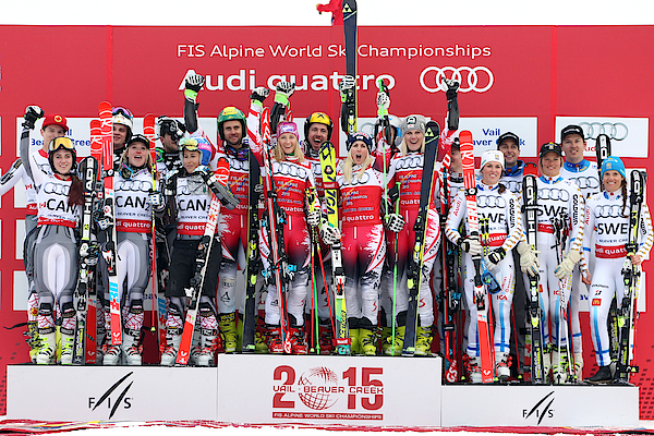 2015 Fis Alpine World Ski Championships - Day 9 Photograph by Christophe Pallot/Agence Zoom