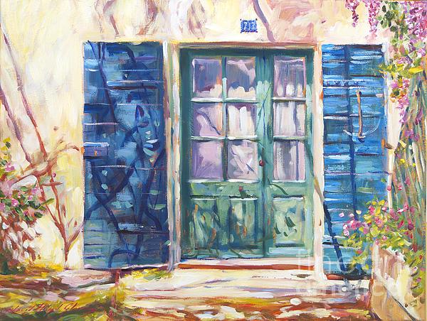 Landscape Painting - 213 Rue De Provence by David Lloyd Glover