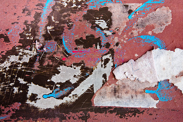 Rust Photograph - Abstract by Mark Weaver