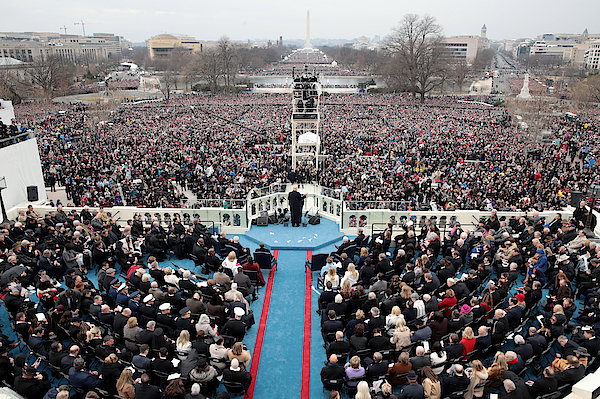 Donald Trump Is Sworn In As 45th President Of The United States 3 Photograph by Scott Olson