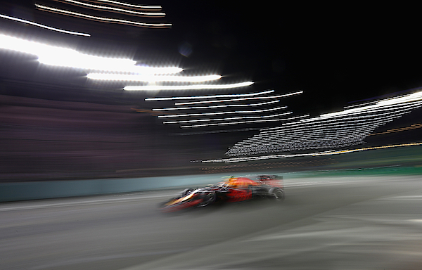 F1 Grand Prix Of Singapore - Qualifying Photograph by Clive Mason