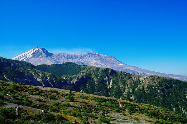 Mountains Photograph - Mt St Helens by Jeff Swan