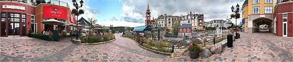 Light Photograph - 360 View Panorama, Mont-tremblant by Henry Lin