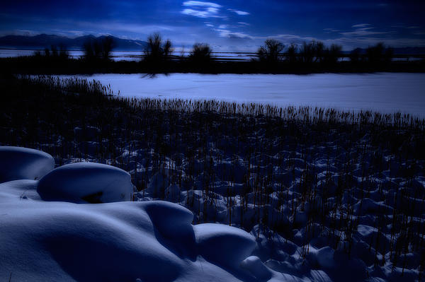Great Salt Lake Photograph - Great Salt Lake Utah by Utah Images