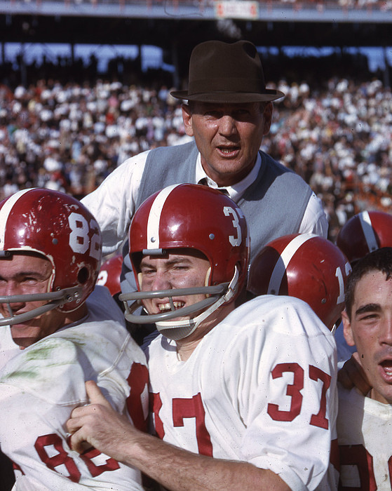 Classic Photograph - Coach Bear Bryant by Retro Images Archive