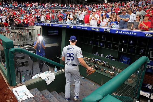 Los Angeles Dodgers V Philadelphia Phillies Photograph by Hunter Martin