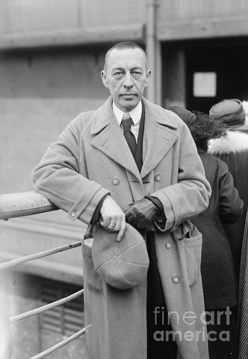 20th Century Photograph - Sergei Rachmaninoff by Granger