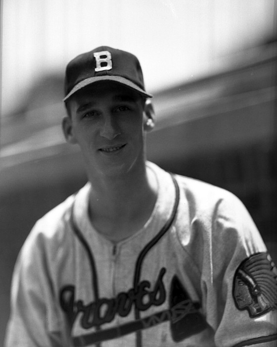Classic Photograph - Warren Spahn by Retro Images Archive