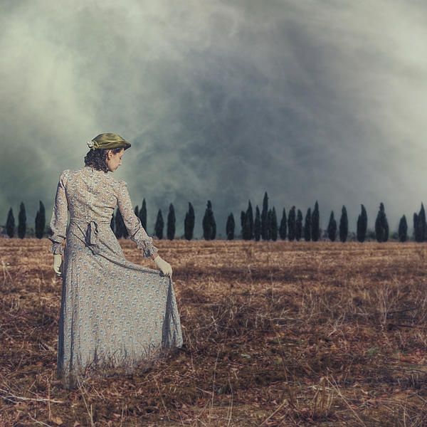 Woman Photograph - Tuscany by Joana Kruse