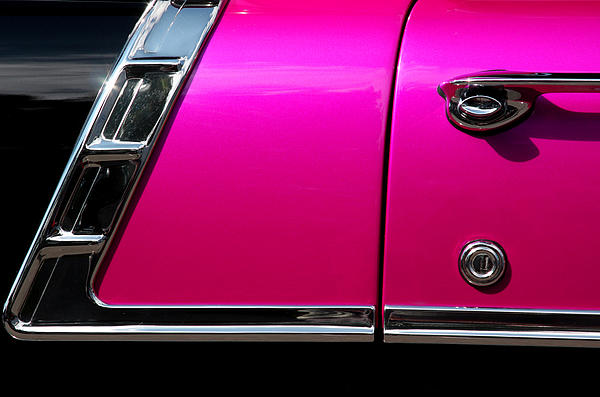 Wall Decoration Photograph - 56 Chevy Two Tone by Steve Raley