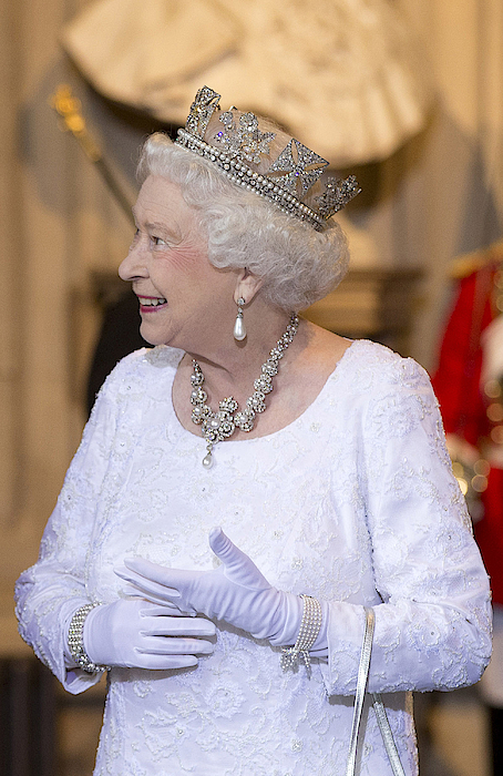 Queen Elizabeth II Attends The State Opening Of Parliament 6 Photograph by WPA Pool