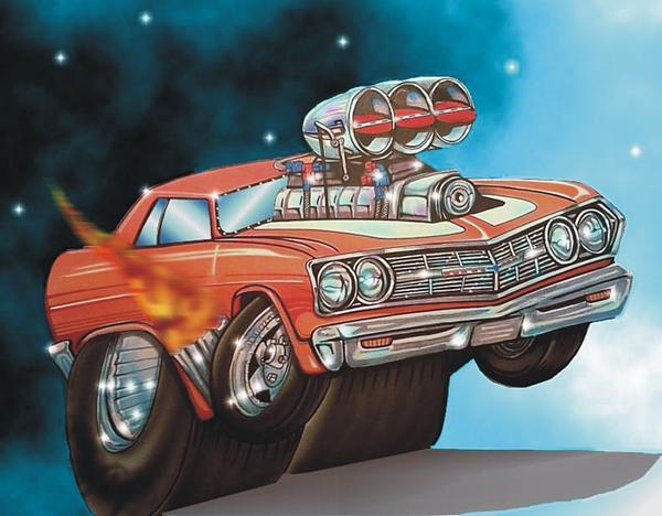Chevelle Digital Art - 67 Chevelle by Christopher Fresquez