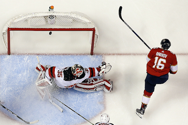 New Jersey Devils V Florida Panthers Photograph by Eliot J. Schechter