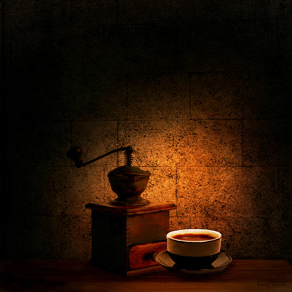 Coffee Digital Art - A Look At The Past by Lourry Legarde