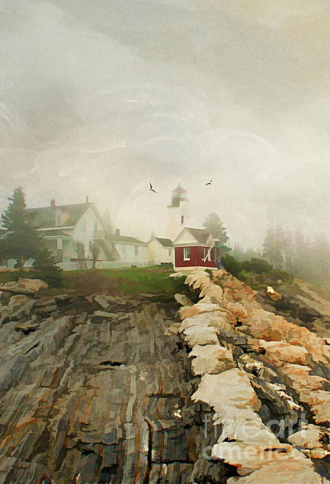 America Photograph - A Morning In Maine by Darren Fisher
