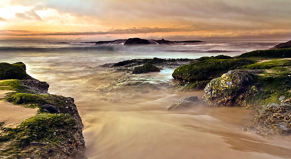 Seascape Photograph - A New Day by Andrew Raby