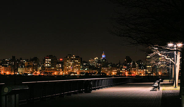 Pier A Photograph - A Night In The Park by JC Findley