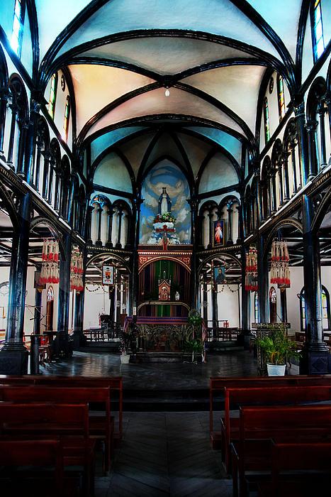 Church Photograph - A Place Of Faith by Kim Lagerhem