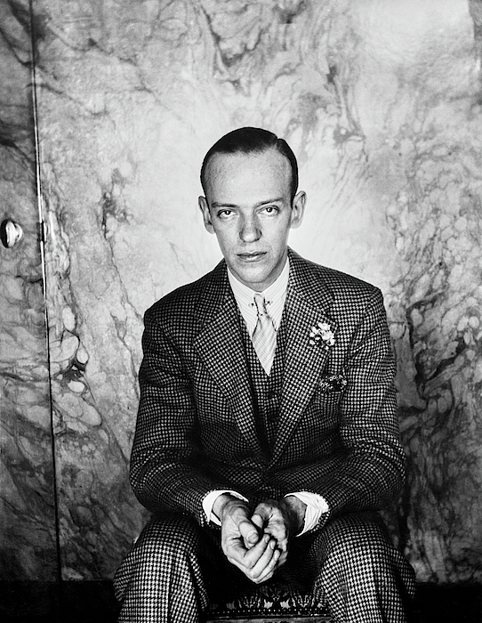 A Portrait Of Fred Astaire Sitting Photograph by Cecil Beaton