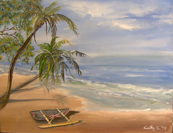 Beaches Painting - A Quiet Place by Catherine Swerediuk