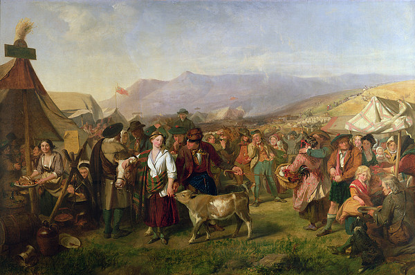 Scotland Painting - A Scottish Fair by John Phillip