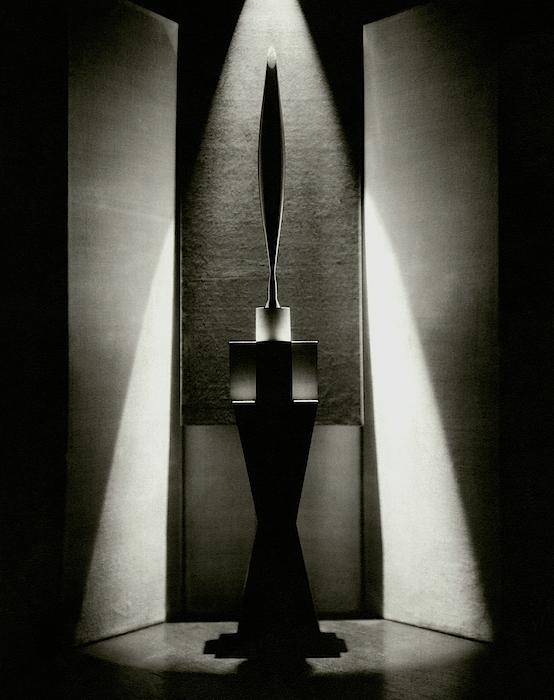 A Sculpture Called The Bird Photograph by Edward Steichen