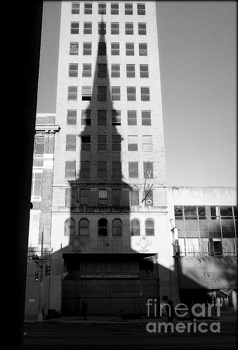Religion Photograph - A Shadow Looms Over Us All by James Aiken