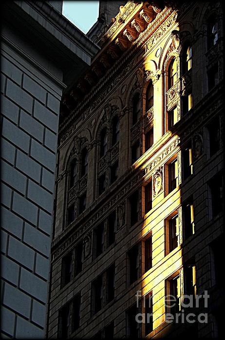 New York City Photograph - A Sliver Of Light In Manhattan by James Aiken