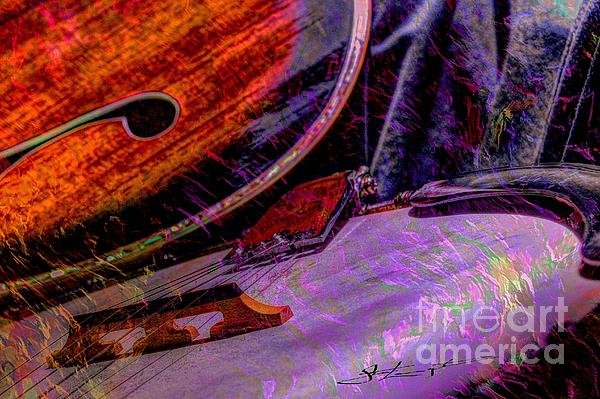 Acoustic Photograph - A Southern Combination Digital Banjo And Guitar Art By Steven Langston by Steven Lebron Langston
