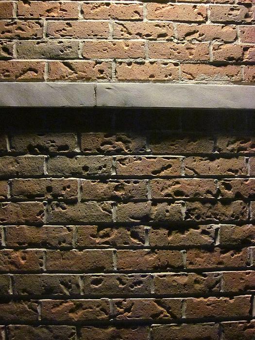 Bricks Photograph - A Study In Brick by Guy Ricketts
