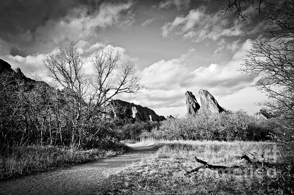 Roxborough State Park Photograph - A Surreal Walk by Cheryl McClure